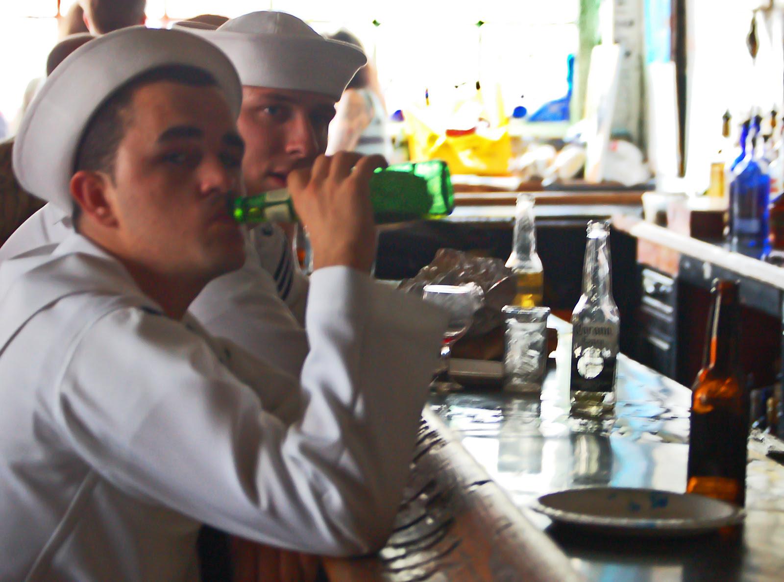 Drink up, sailor!