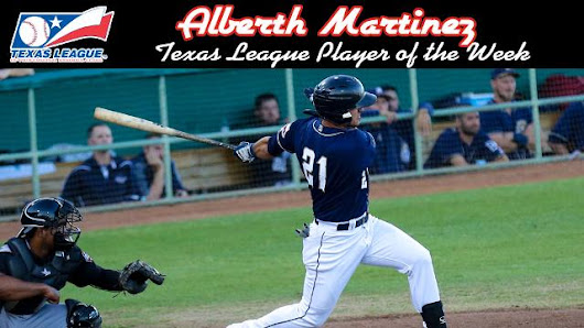 Martinez named TL Player of the Week | San Antonio Missions News