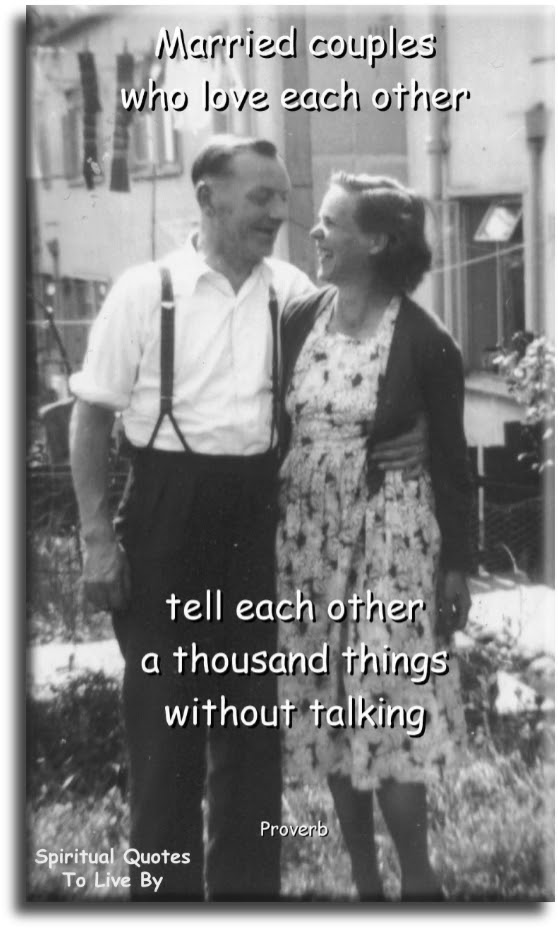 Marriage Sayings To Live By