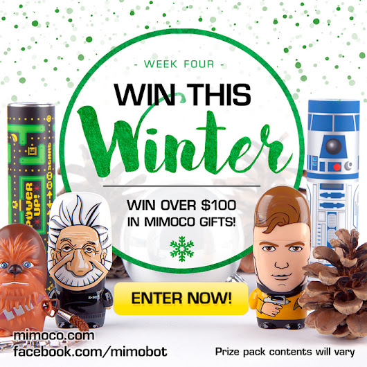 Mimoco's #WinThisWinter Prize Pack Contest! Week Four