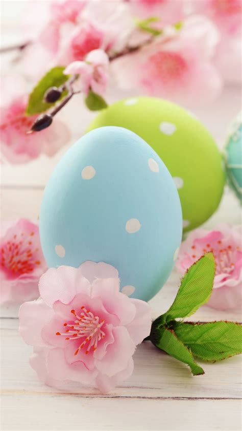 wallpaper easter eggs branch flowers holidays