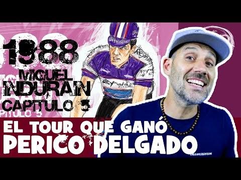 La LEYENDA de INDURAIN. Capítulo 5. 1988 el TOUR que ganó PERICO DELGADO - Alfonso Blanco