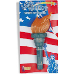 Light Up Liberty Torch - 256 - Green - One Size