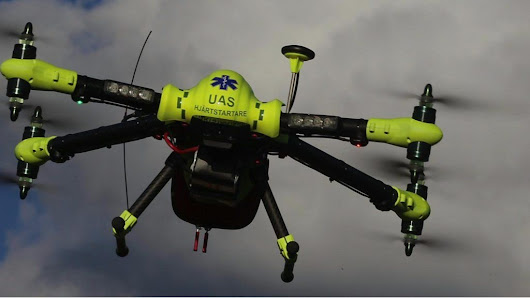 The defibrillator drone that can beat ambulance times - BBC News