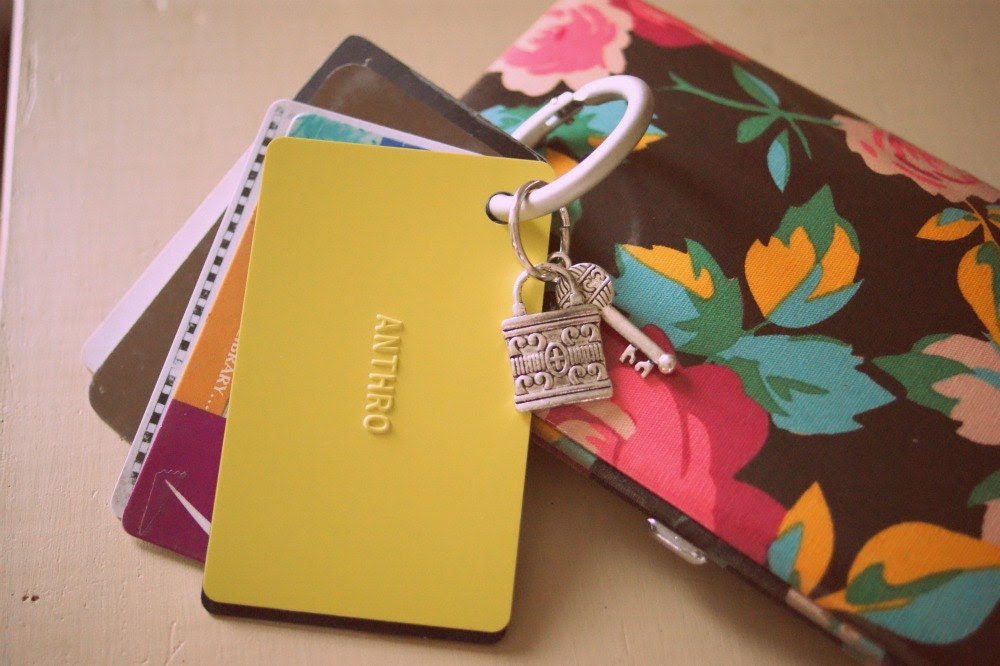 Purse Organizer:  Card Keyper set by Privet and Holly on Etsy