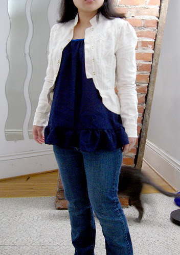 Modified Spring Ruffle Top
