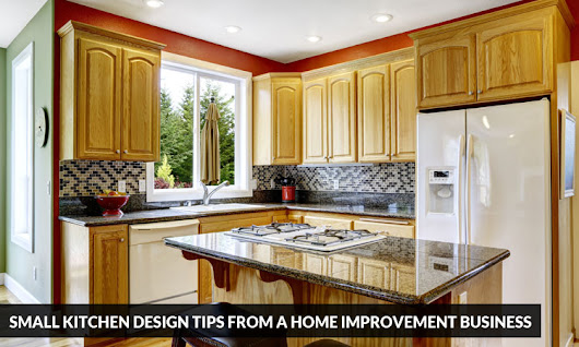Small Kitchen Design Tips from a Home Improvement Business | Kitchen Solvers Franchise