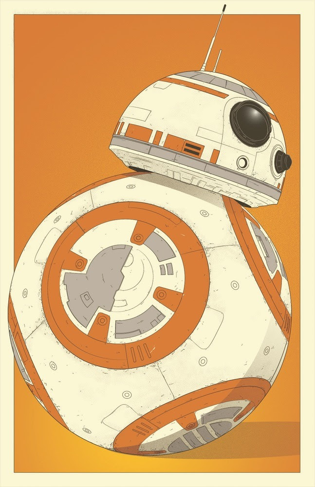 Star Wars: BB-8 by Dylan West