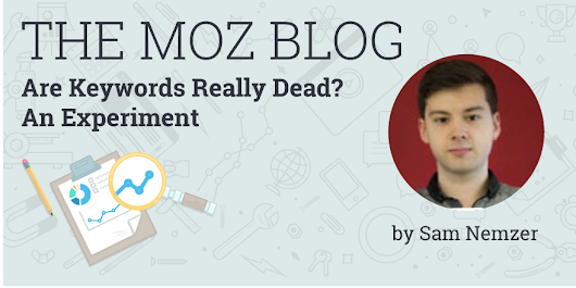Are Keywords Really Dead? An Experiment
