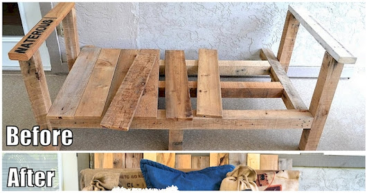 15 Gorgeous Wooden Pallet Project Ideas Every DIYer Will Love