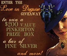 Enter the LOVE IN DISGUISE Giveaway!