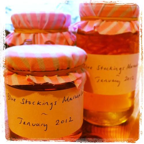 Blue Stockings Preserves Marmalade