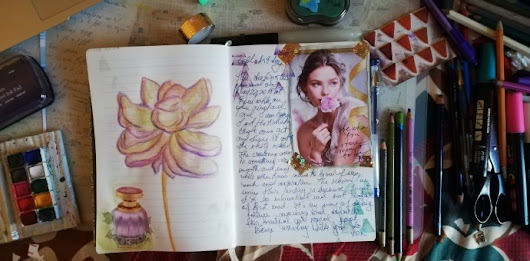 Soul Art Day 2018 – May 23 – Mixed Media & Art Journaling with Love