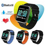 Mr. Monitor Smart Fit 12 Function Smart Watch Everyday Health Tracker