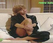 Helena Isabel sensual na novela Vidas de Sal