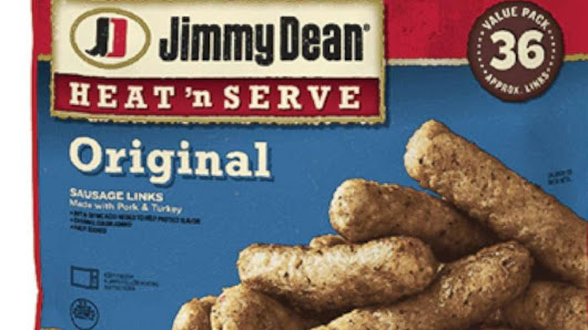 Jimmy Dean sausage-link products recalled due reports of metal shards - ABC News