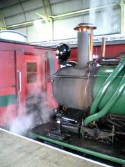 ABT Locomotive at Queenstown station