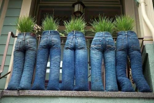 Creative Things to Do With Old Jeans - Recycled Things