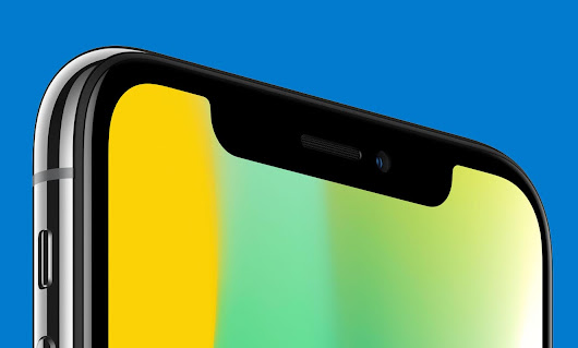 "Apple quiere reducir el ""notch"" del iPhone X - Tech4fun"