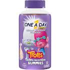 One A Day Kids Multivitamin Supplement, Children's, Trolls, Gummies - 180 gummies