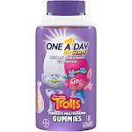 One A Day Kids Kids Complete Multivitamin, Children's, Gummies, Dreamworks Trolls - 180 gummies