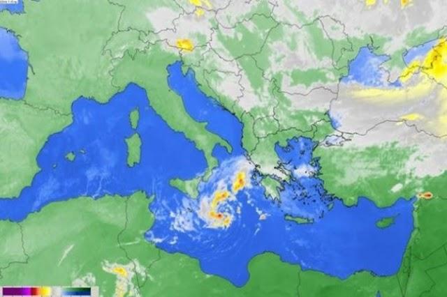Έκτακτο:Τροπικός κυκλώνας θα σαρώσει Πελοπόννησο