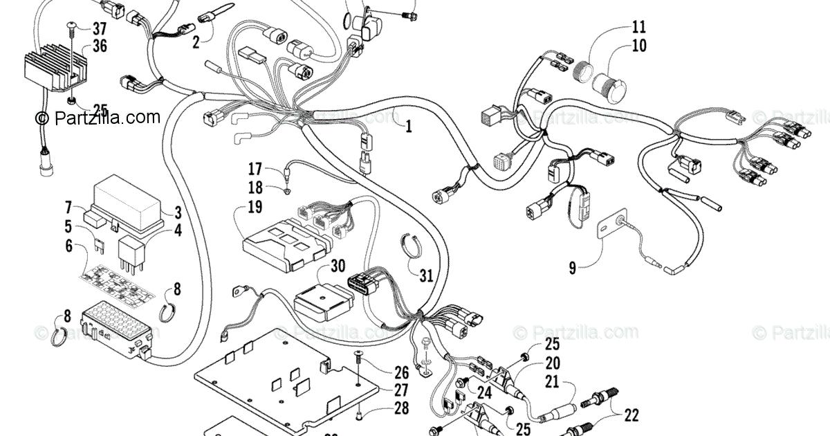 2005 Arctic Cat 500 Wiring Diagram