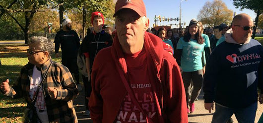 "It Takes Heart: Temple gives ""Miracle Joe"" a new heart and he spreads the love at Philly Heart Walk – Stories from Temple's Narrative Medicine Program"