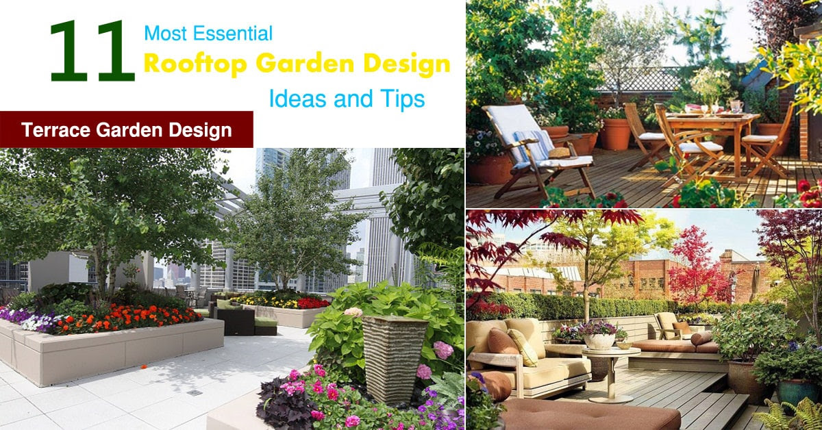 rooftop terrace garden design ideas and tips 1