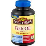 Nature Made 300mg Fish Oil Liquid Softgels - 100 Count