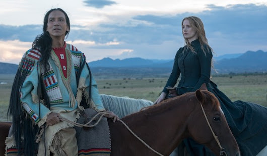 WOMAN WALKS AHEAD (2017) Movie Trailer: Jessica Chastain Paints Chief Sitting Bull | FilmBook