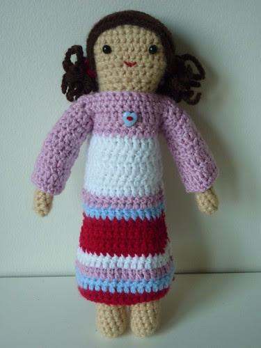 Dolly's new dress!
