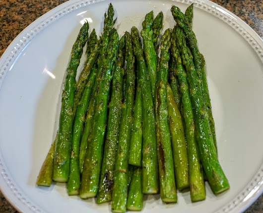 Roasted Asparagus - Real Food Finds
