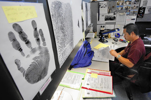 LAPD fingerprint backlog more than doubled in the last two years
