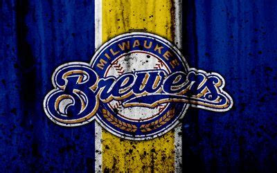 wallpapers  milwaukee brewers grunge