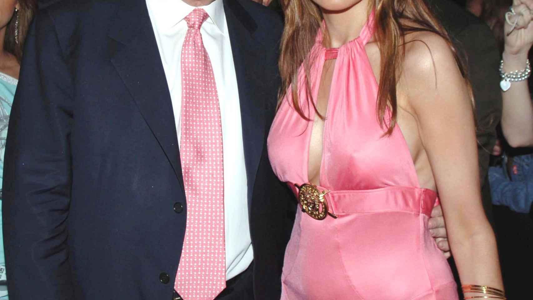 Melania y Donald Trump en la década de los 90.