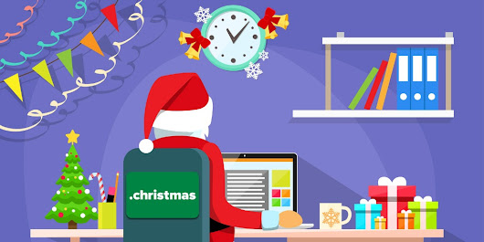It's .CHRISTMAS Time! | Official ETNHost Blog