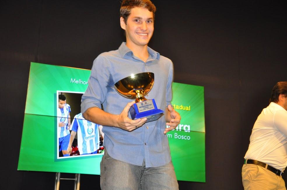 Igor Vieira, melhores de Mato-grossense (Foto: Robson Boamorte)