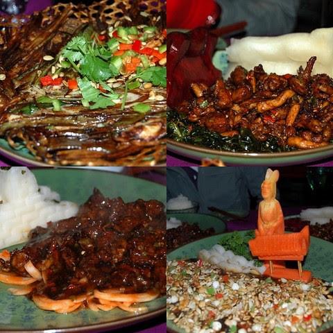 Hunan food at Red Capital Club