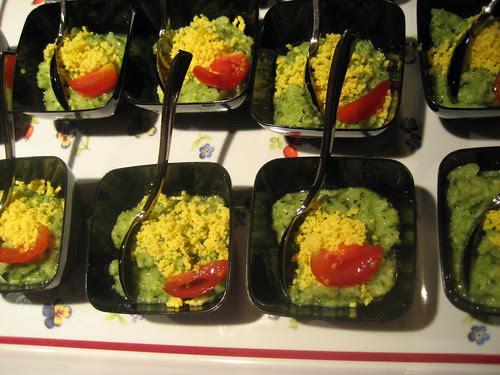 Gazpacho di zucchine e uovo di Maria Chiara Cadore