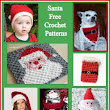 Posh Pooch Designs: Santa, Free Crochet Pattern Round Up | Crochet Pattern Roundups | Pinterest | Crochet Patterns, Crochet and Pattern