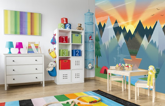Creating A Gender Neutral Kid's Room | Wallsauce