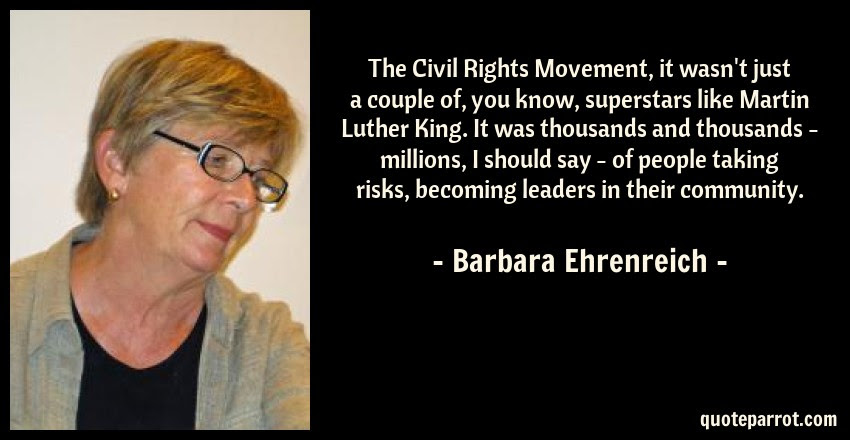 The Civil Rights Movement It Wasnt Just A Couple Of By Barbara