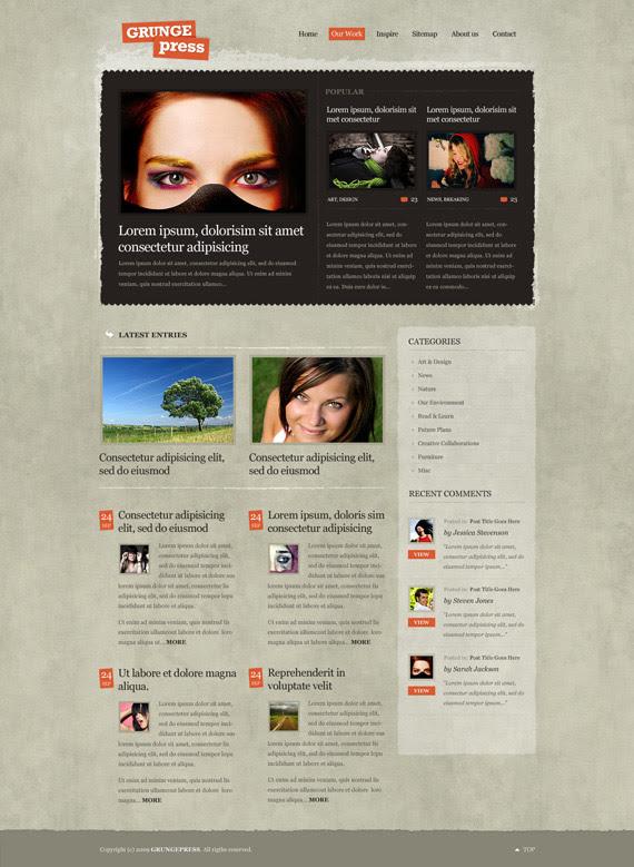 Grungepress-theme-1-inspiration-wordpress-blog-designs