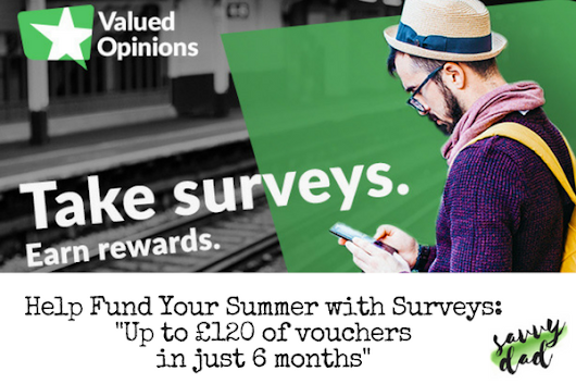 Fund Your Summer by Taking Surveys – Savvy Dad