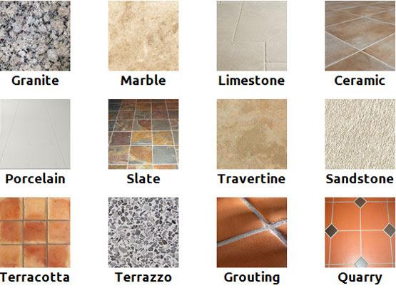 Type Of Tile Flooring