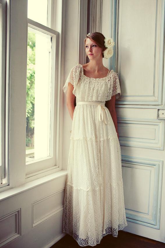 The Perfect Wedding: retro wedding dress