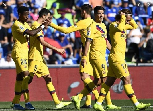 How Ten-Man Barcelona Brushed Past Getafe To Secure The Season's First Away Win