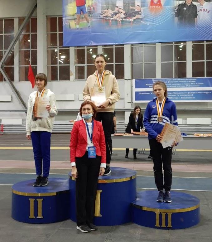 Юная легкоатлетка из Невинномысска одержала победу в Первенстве СКФО
