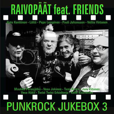 RAIVOPÄÄT feat. FRIENDS CD PUNKROCK JUKEBOX 3